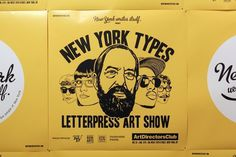 // New York Types #york #types #poster #new