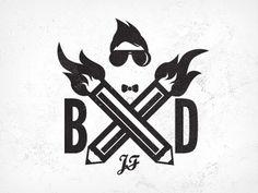 365 awesome designers #logo #vector #vintage #grunge