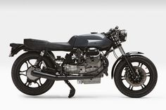 Sheer perfection: Moto Borgotaro's 1979 Guzzi LeMans cafe racer. #motorcycle