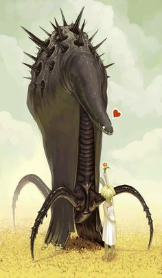 Strange Love by *Lizzy John on deviantART #illustration #love #digital art