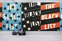 HBO The Black List Triptych on Behance