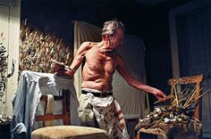 Lucian Freud - a life in pictures | Art and design | guardian.co.uk #freud #photograph #painter #lucien #studio