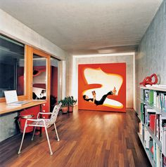 The Living Tower designed by Verner Panton for Vitra