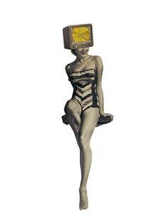 Dan+Bina%2C+collage%2C+The+Luminescent+Rapture+of+a+Technicolor+Seeress%2C+1-5-11.jpg (JPEG Image, 540x720 pixels) #woman #bina #color #dan #vintage #technicolor #collage