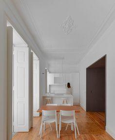 Casa Na Mouraria by José Andrade Rocha #interior #design #minimalism