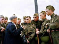 Sowjet Uniform by Waldemar Salesski #old #young #waldemar #sowjet #soldier #military #russia #portrait #photography #man #salesski #uniform
