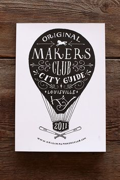 Original Makers Club - Jon Contino, Alphastructaesthetitologist #balloon #drawn #hand #typography
