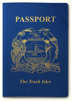Passport, The trash isles, Mario Kerkstra