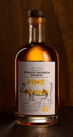Fine Swine #Bourbon #Packaging