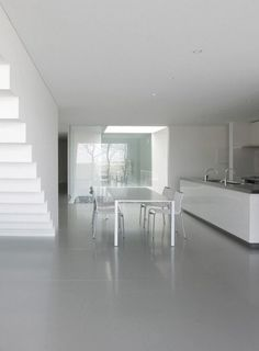 Skim Milk: House in Ise by Takashi Yamaguchi | Design Milk #architecture #interior #minimalist #japan