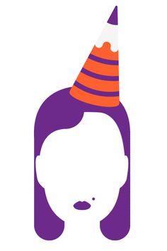 Many Hats Institute Back To School #vector #school #celebration #illustration #hat #blank #pencil