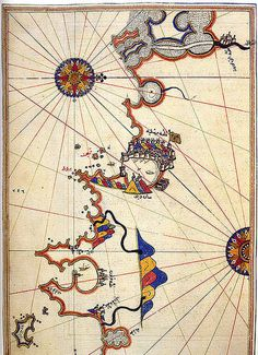 The Maps of Piri Reis | The Public Domain Review #maps