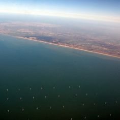 Cargo #ocean #water #aerial #windmill #sea