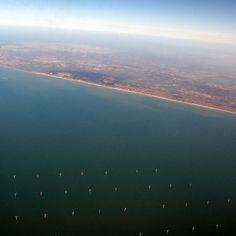 Cargo #ocean #water #aerial #windmill #sea