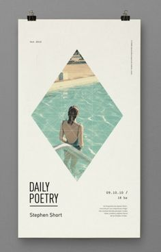 Inspiration and more - thedsgnblog: Clara Fernandez|... #design #poster