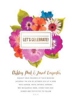 Spring Collection - Wedding Invitations  #paperlust #wedding #invitation #weddinginvitation #weddinginspiration #design #paper #spring