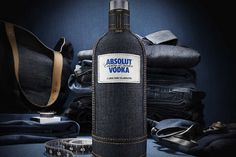 absolut denim 2 #denim #absolut #vodka
