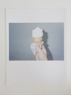GM. #cream #diana #photography #indie #ice