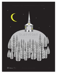 Glasvegas | Tad Carpenter Creative #tadcarpenter