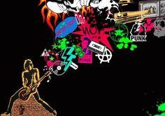 Más tamaños | Punk world | Flickr: ¡Intercambio de fotos! #illustration #design #punk #board