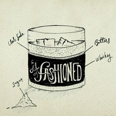 #illustration #handtype #handlettering #design #typography #type #doodle #sketch #drinks #alcohol #mixdrink #cocktail #menu