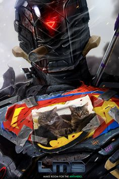THE ANTI-HERO - by DanLuVisiArt on deviantART #gabriel #lms #dan #luvisi #soldier #anti-hero #man #standing #last #sci-fi