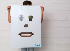 Fred International | Identity Designed #poster #print #branding