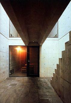 azuma-2.jpg 448×648 pixels #azuma #concrete #tadao #house #ando #row #photography #architecture