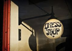 Dress Shop | Flickr - Photo Sharindfadsg! #typography #art nouveau
