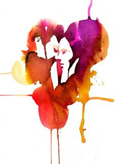Watercolour : Stina Persson