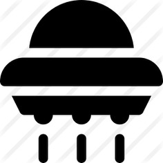 See more icon inspiration related to Science fiction, ufo, spaceship, transportation, extraterrestrial, alien and transport on Flaticon.