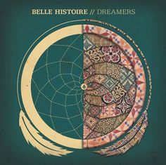 Belle Histoire Dreamers by Zac Jacobson, via Behance #histoire #jacobson #album #dreamers #dream #feather #artwork #dreamcatcher #zac #cd #belle