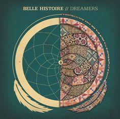 Belle Histoire Dreamers by Zac Jacobson, via Behance #histoire #jacobson #album #dreamers #dream #feather #artwork #dreamcatcher #zac #cd #belle