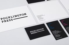 POCKLINGTON PRESS « IYA STUDIO LONDON | DESIGN | ART DIRECTION #graphic design #design #logo #branding #identity