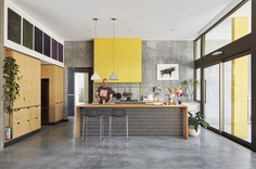 Coastal Suburban Home Featuring Bright, Vividly Colored Spaces 5