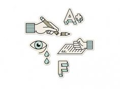 Jared Erickson | Because I Can #iconography #school #design #graphic #icons #symbols