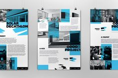Odooproject Identity on Behance #poster