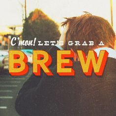 Let's grab a brew! #technique #lettering #design #graphic #craftsmanship #quality #typography