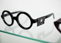 Black Eyewear | Bibliothèque Design #design #graphic #eyewear