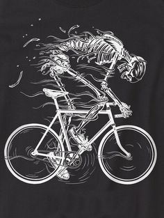 Zoom Photo #cyclist #skull #howies