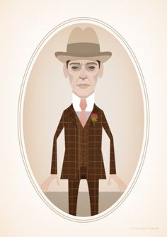 Stanley Chow Illustration — A caricature of Steve Buscemi in the role of Enoch... #chow #illustration #amazing #stanley