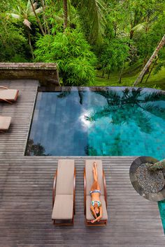 luxuryon:The Grand Tour of Asia: Bali | Como Shambhala Estate resort #pool #swimming
