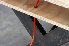 Work Table 02 Series Miguel de la Garza #design #furniture