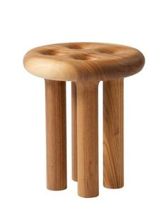 Kurtz_milking stool_1_2 | handful of salt #design #stool #wood #furniture #craft #kurtz #art #christopher