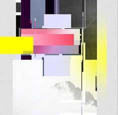 re-form. on Behance #abstract #geometry #reform #glitch #poster