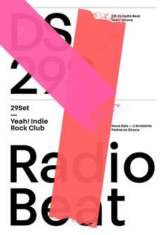 Radio Beat poster by Quim Marin Studio