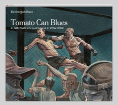 Tomato Can Blues #layout #design #web #websites