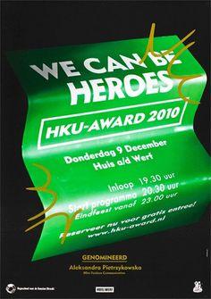 HKU Award 2010 | wilfredtimo #design #graphic #poster