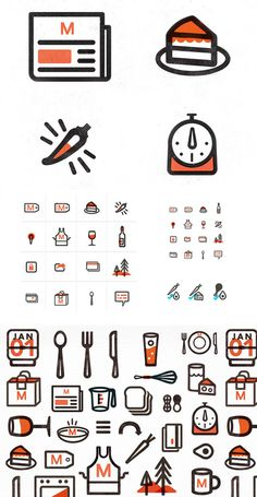 New Logo and Identity for Munchery done In house #design #texture #icons #symbols
