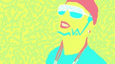 Riff Raff Music Video Daniel Renda #illustration #riff #raff